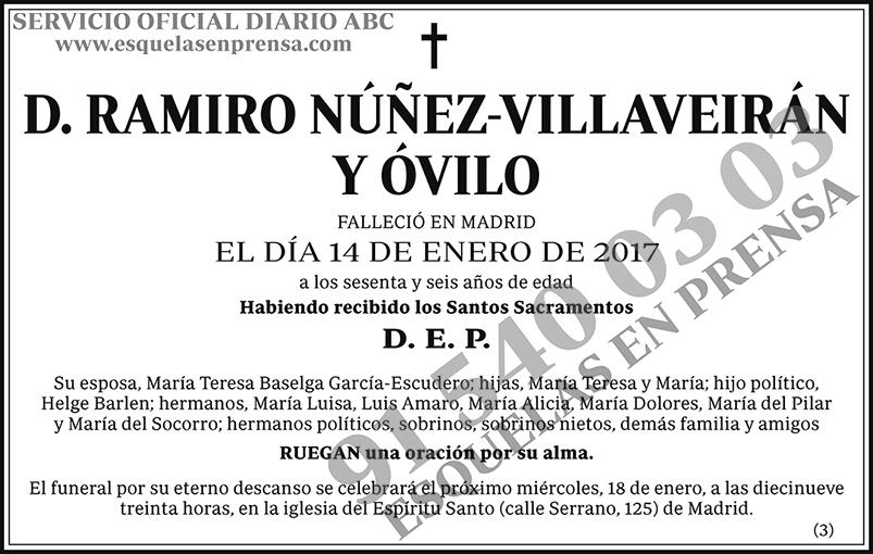 Ramiro Núñez-Villaverán y Óvilo